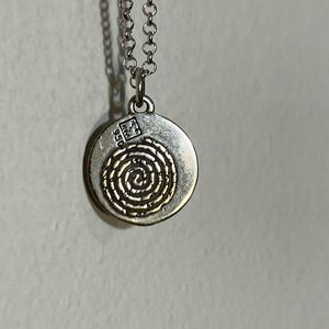 NWOT Sterling Silver Necklace